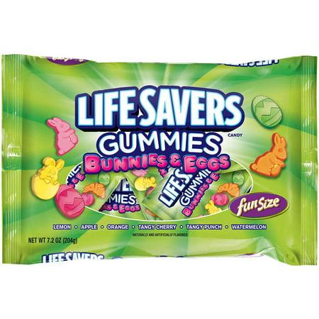 Life Savers Gummies lapins de Pâques; Œufs, 7,2 oz