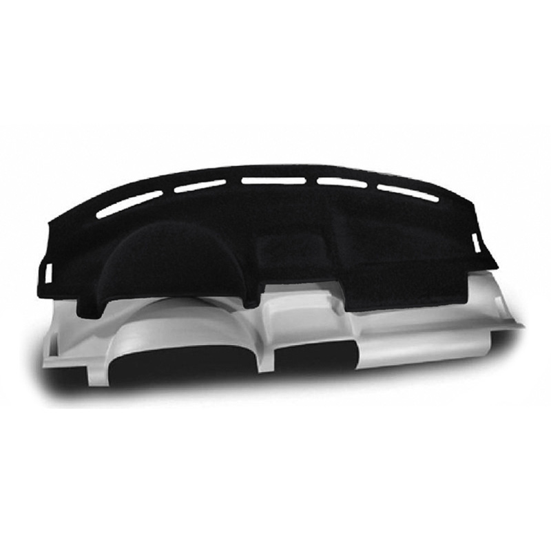CUSTOM MOLDED CARPET DASHBOARD COVERS BLACK FOR HONDA 1990