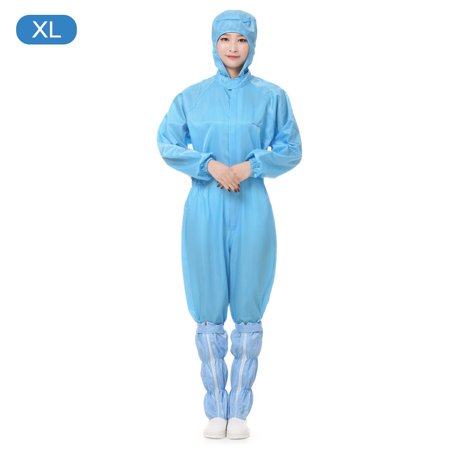AIHOME Protection Gown Dust Protective Coverall with Hood Anti-static Coverall for Indoor Outdoor Workshop Construction Working - image 1 of 1