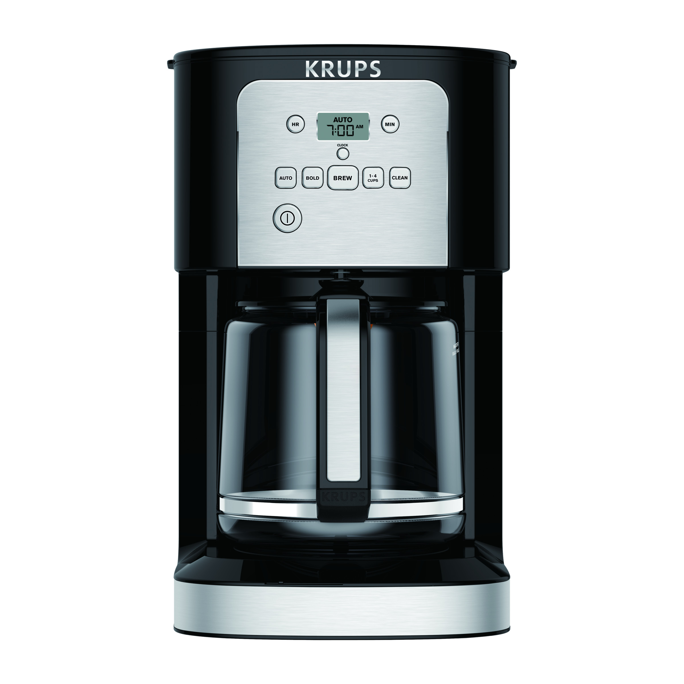Krups Thermobrew 12 Cup Programmable Coffee Maker Walmartcom