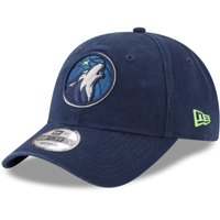 Minnesota Timberwolves New Era Core Fit 49FORTY Fitted Hat - Navy