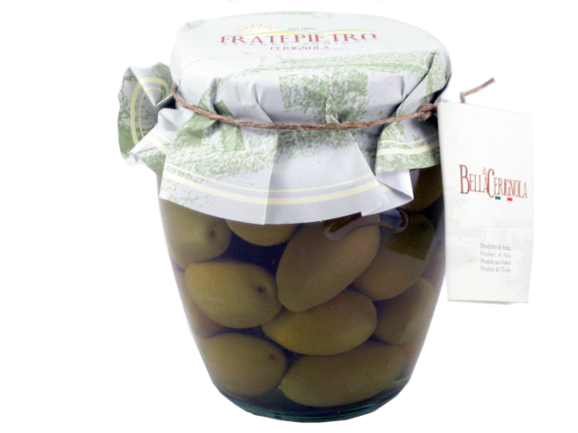 Fratepietro Green Bella di Cerignola Olives by