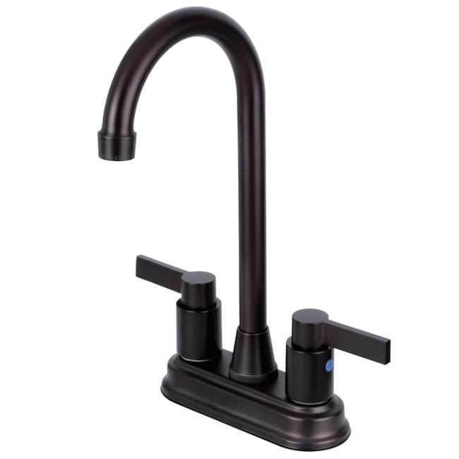 4 in. Two Handle Centerset Bar Faucet