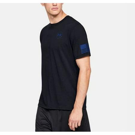 Under Armour 1333366001SM Freedom Express Mens SM Black S/S T-Shirt](Express Men Sale)