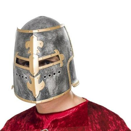 Medieval Crusader Adult Costume Helmet