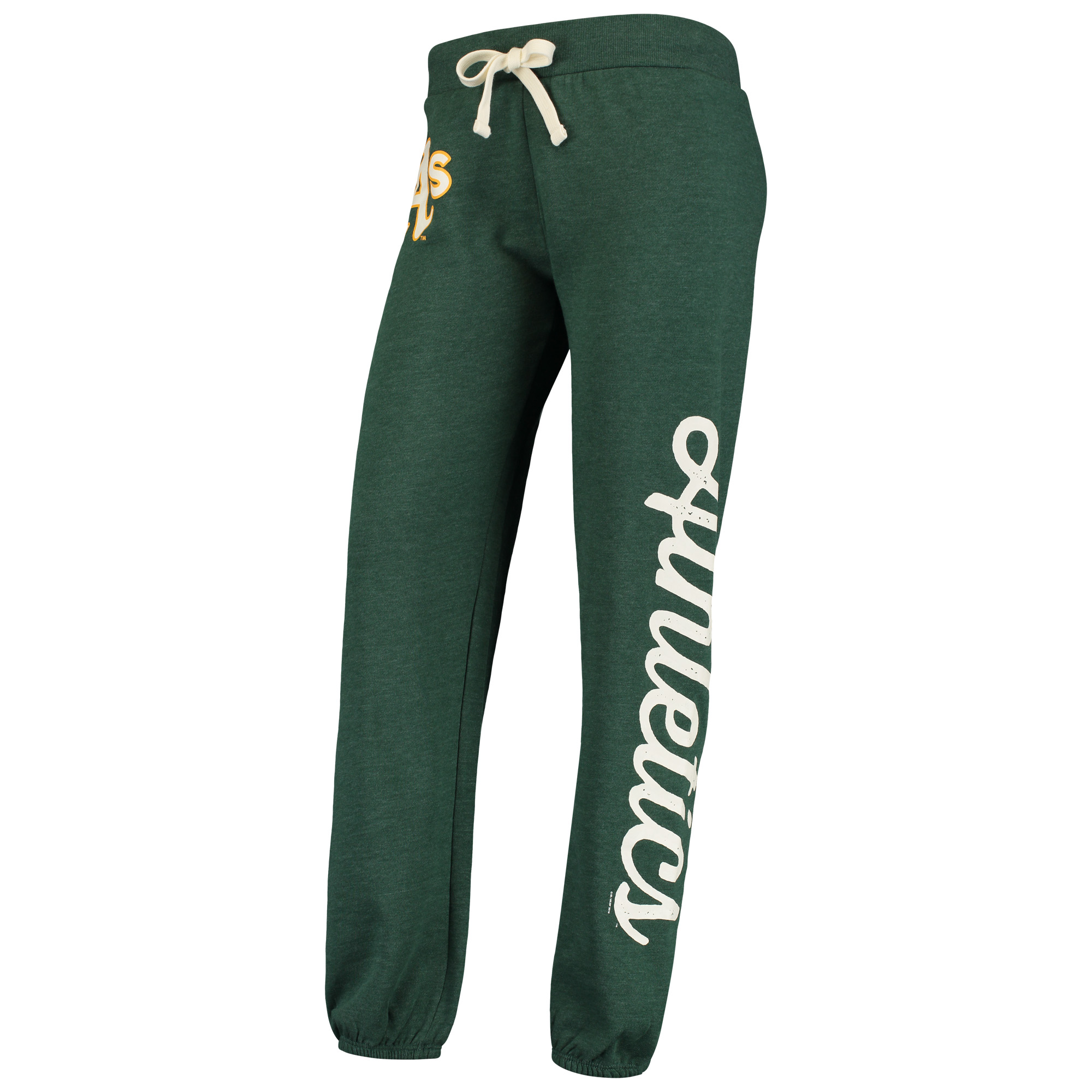 Oakland Athletics G-III 4Her by Carl Banks Women's Scrimmage Pants - Green -