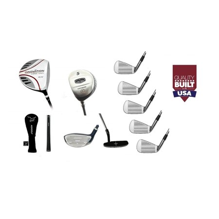 6d0562401183 AGXGOLF Mens Left Hand Tour EX Edition Golf Club Set wOverSize 460cc Driver  + 5 Wood & #7 Utility Wood + 3, 5, 7 & 9 Irons + PW + Putter: Tall Length:  ...