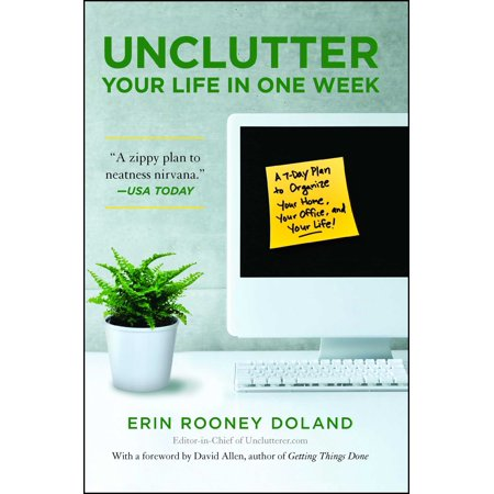 Unclutter Your Life in One Week (Clean Your System Of Thc In A Week)