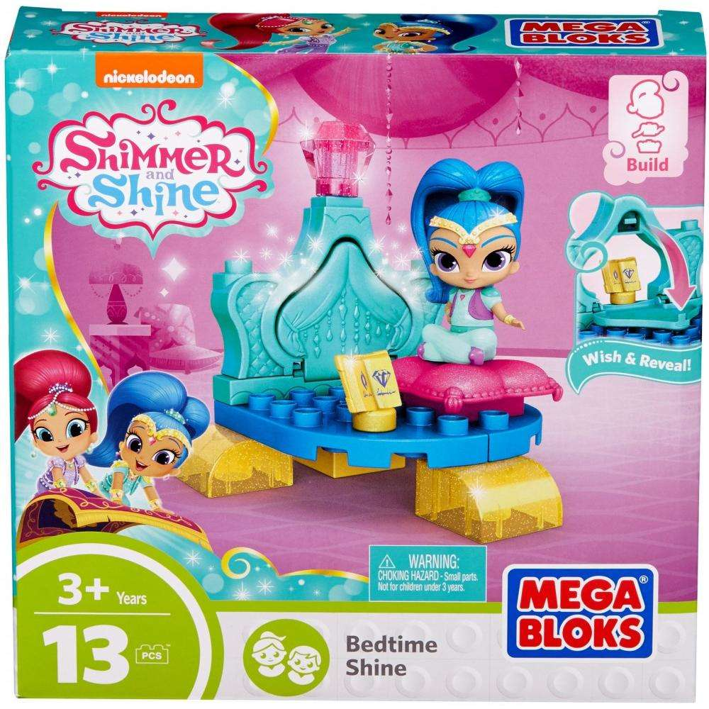 Mega Bloks Nickelodeon Shimmer and Shine, Bedtime Shine by Mega Brands, Inc.
