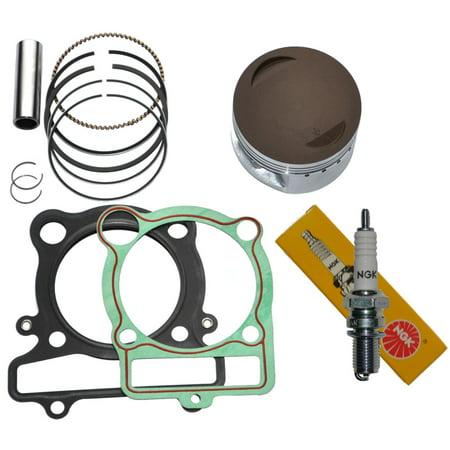 Top Notch Parts Yamaha Raptor 350 Piston Rings Gasket Ngk Spark Plug Kit Set Yfm 350 2004-2013