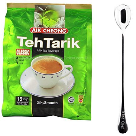 Aik Cheong Classic 3in1 Teh Tarik Milk Tea Beverage (2 Pack)+ one NineChef
