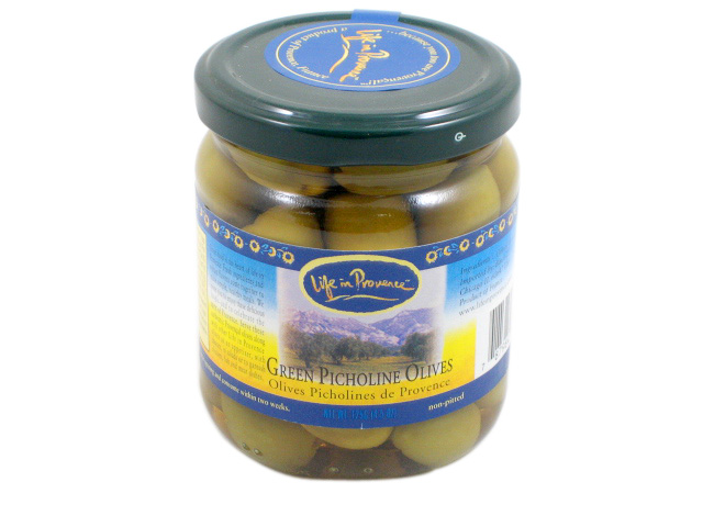 Green Picholine Olives by Life in Provence by
