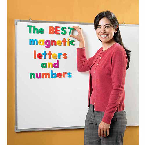 Educational Insights Alphamagnets Uppercase, Color Coded, Set of 42