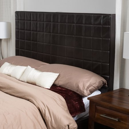 Liam Fully Upholstered Queen / Full Bonded Leather Headboard