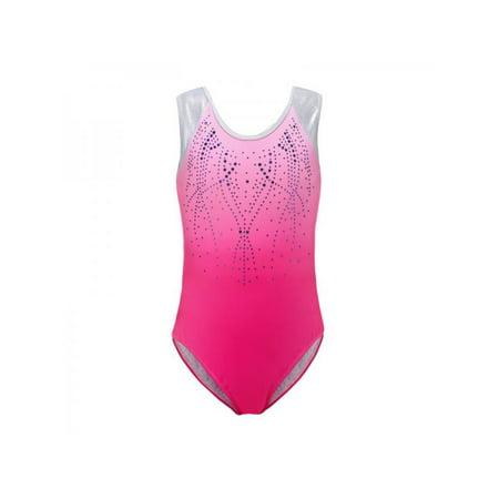 Sweetsmile Girls Sleeveless Gymnastics Ballet Dress Jumpsuit Tops Kids Leotard Dance Costume Pants](Leotard Dresses For Adults)