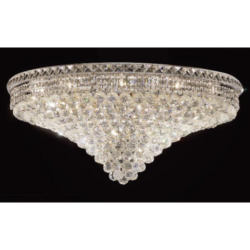 Elegant Lighting Tranquil 21 Light 16'' Semi Flush Mount