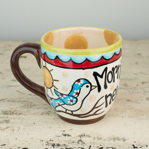 Glory Haus New Mercies 16 oz. Jumbo Mug