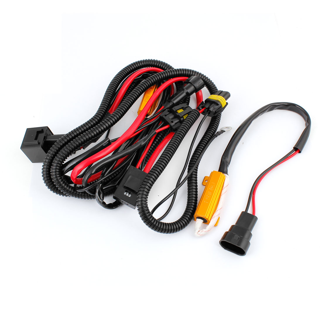 Hid Conversion Kit No Error W Two Load Resistor Wiring Harness Adapter
