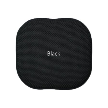 Black Foam Chair/seat Cushion Pad : Non Slip. 16