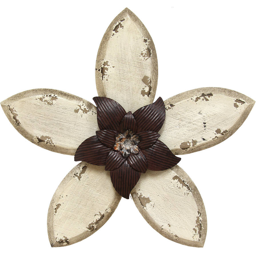Click here to buy Stratton Home Decor Antique Flower Wall Decor by Stratton Home Decor.