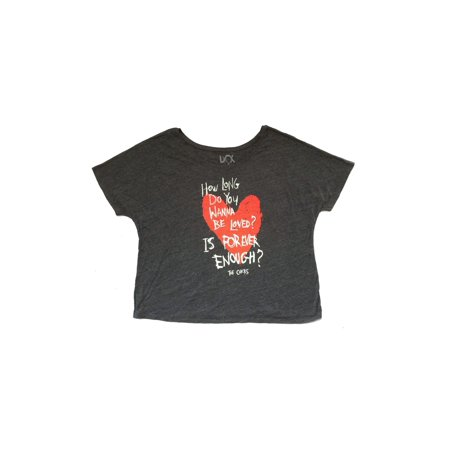 Dolman Crop - Dixie Chicks Forever Womens Ladies Dolman Grey Crop Shirt
