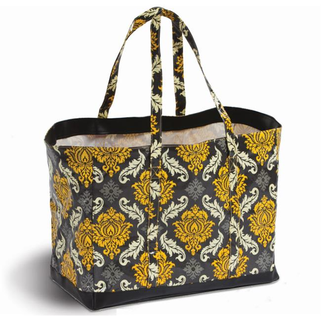 Picnic Plus PSA-803PF Coated canvas carry all by is large enough to handle all your daily activities from shopping to beach - Provence Flair