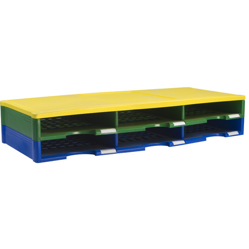 STOREX 6 Compartment Literature Organizer by