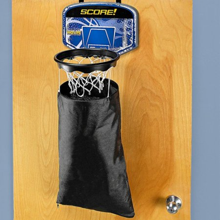 Hamper hoops over the door laundry hamper basketball hoop - Basketball hoop laundry hamper ...