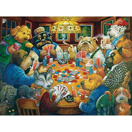 Karmin™ International The Poker Club Jigsaw Puzzle - Club Penguin Halloween Puzzles