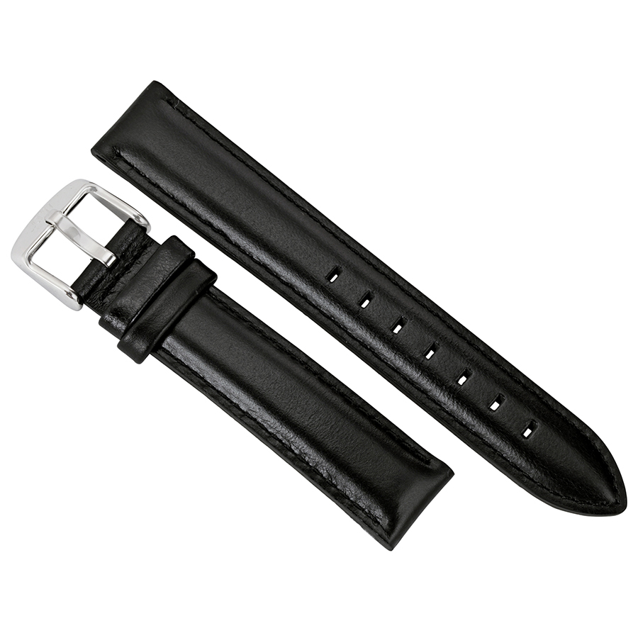 Daniel Wellington Dapper Sheffield Black Leather Watch Strap DW00200096