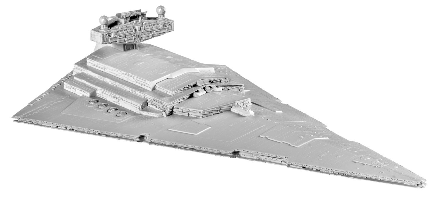 SnapTite Build & Play Imperial Star Destroyer Building Kit, Revell snaptite build & play... by