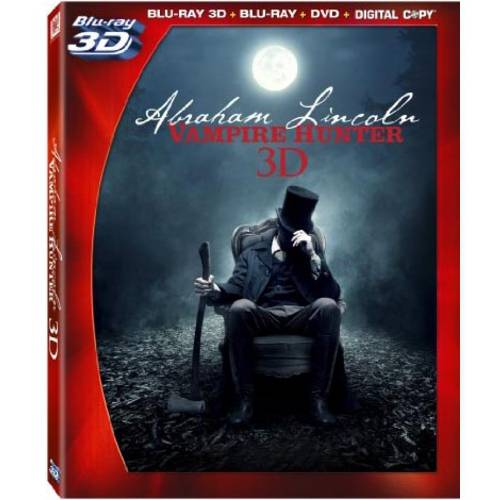 Abraham Lincoln: Vampire Hunter (3D Blu-ray + Blu-ray + DVD)