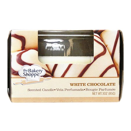 Bakery Shoppe 3 Oz Scented Candle- White Chocolate 977567 - image 1 de 1
