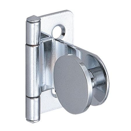 LAMP GH-34/0/CR-P Glass Door Hinge, Stainless Steel, 100 Deg