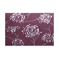 Simply Daisy 3' x 5' Spring Floral 2 Floral Print Indoor Rug