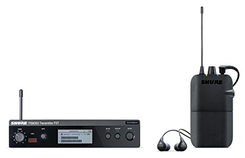 Shure P3TR112GR PSM300 Wireless Stereo Personal Monitor System with SE112-GR Earphones, H20 by Shure
