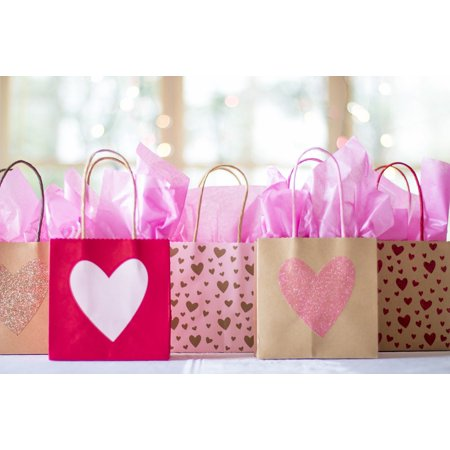LAMINATED POSTER Presents Shopping Gifts Bag Gift Bags Sale Gift Poster Print 24 x 36