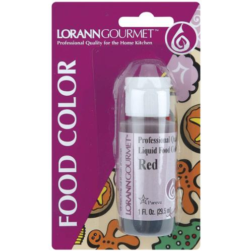 Liquid Food Color 1 Ounce-Red