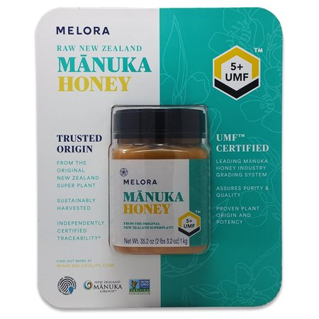 Melora Raw New Zealand Manuka Honey, 35.02 oz