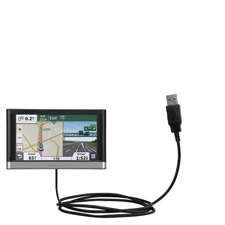 Classic Straight Usb Cable Suitable For The Garmin Nuvi 2557   2577   2597 Lmt With Power Hot Sync And Charge Capabilities