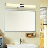 Super bright Bathroom Front Mirror Vanity LED Fixture Light Modern Acrylic Toilet Wall Lamp
