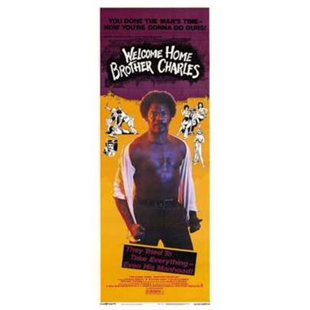 Welcome Home Brother Charles Movie Poster (11 x 17) (Welcome Home Brother Charles)