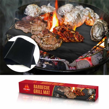New BBQ Grill Baking Mats, Durable, Set of 2 16