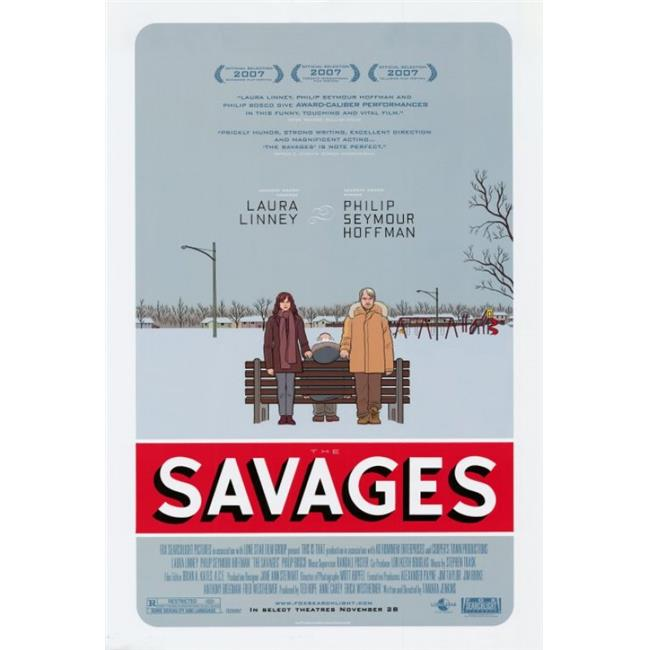 Posterazzi MOVAI1114 The Savages Movie Poster - 27 x 40 in. - image 1 of 1
