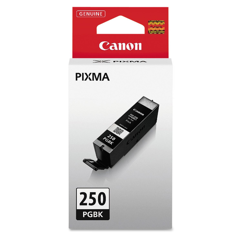 Canon 6497B001 (PGI-250) ChromaLife100+ Ink, Black