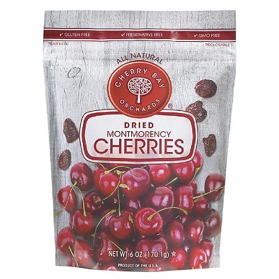 Cherry Bay Orchards Dried Montmorency Cherries, 6.0 OZ