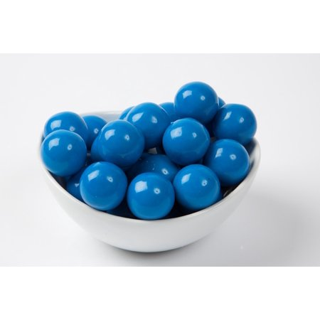 Blue Gourmet Gumballs (14 Pound Case) - Blue Gum Balls