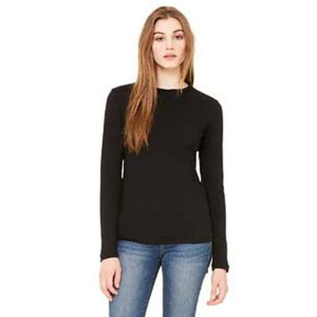 Bella + Canvas Ladies' Jersey Long-Sleeve T-Shirt Canvas Long Sleeve Jersey