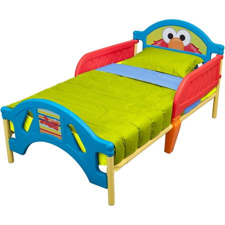 Sesame Street Elmo Toddler Bed. Sesame Street Elmo Toddler Bed   Walmart com