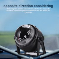 LYUMO Ball Compass,Black Electronic Adjustable Military Marine Ball Night Vision Compass for Boat Vehicle , Compass